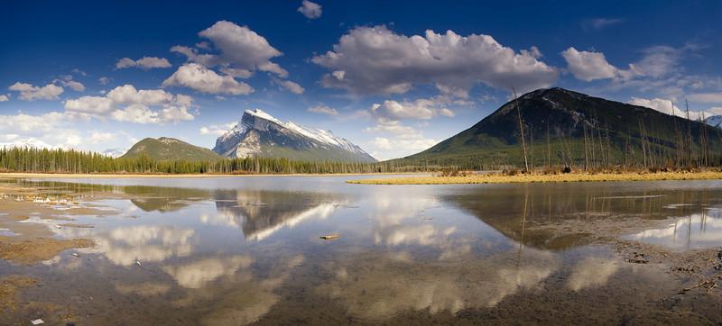"Vermillion Lake #1 - ""Golden Hour"" - Banff NP"