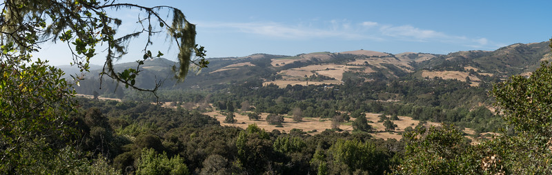 One of the views, at Garland Ranch Park.