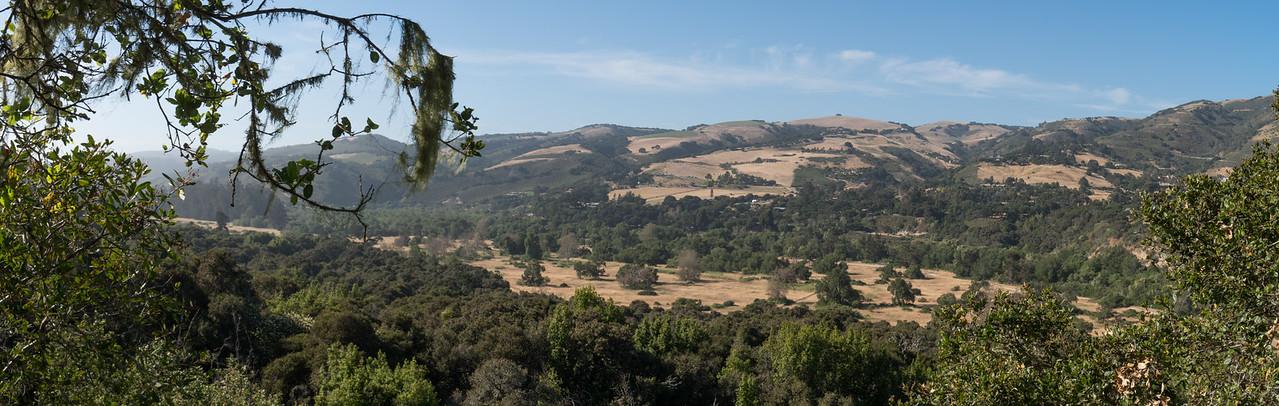 One of the views, at Garland Ranch Park.