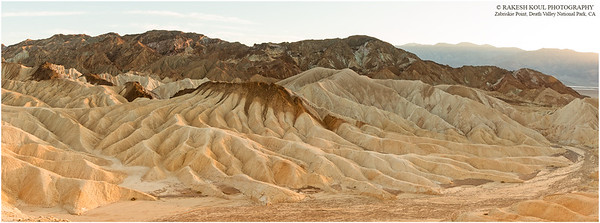 Zabriskie Point, Death Valley National Park, CA
