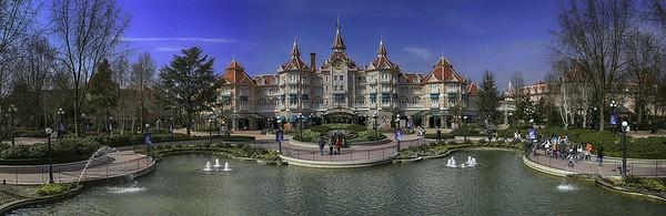 Disneyland Pariis Eingang