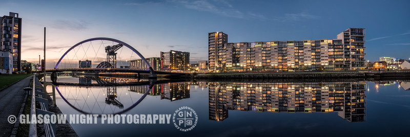 Lancefield Quay and the Clyde Arc