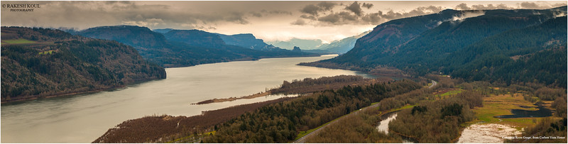 Panorama, Columbia Gorge