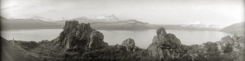 Reykjarfjörður panorama