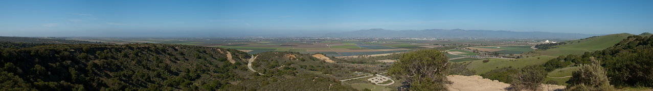 This view of the Salinas Valley is from the Fort Ord Trail.