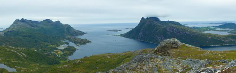 View from Finnkonnakken