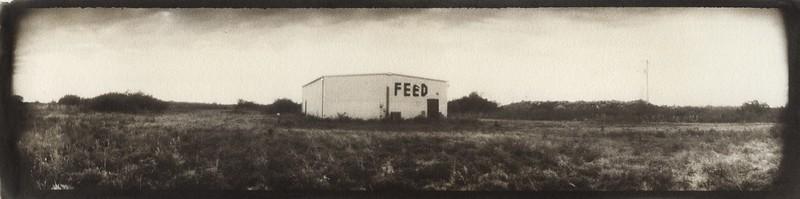 Feed supply panorama, Immokalee, Florida