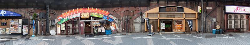 Korean and Japanese restaurants near Yurakucho Station