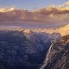 Sunset at Glacier Point