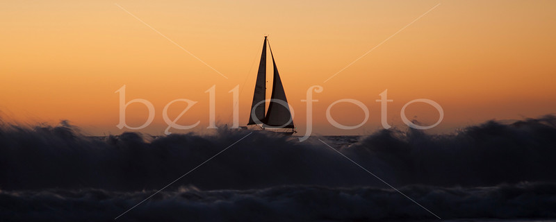 """Redondo Sunset Sail"" - Redondo Beach, California"