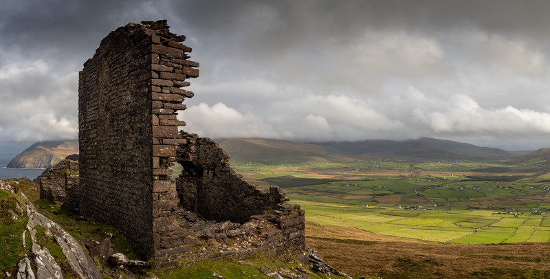 Remains of Ballydavid Signal Tower