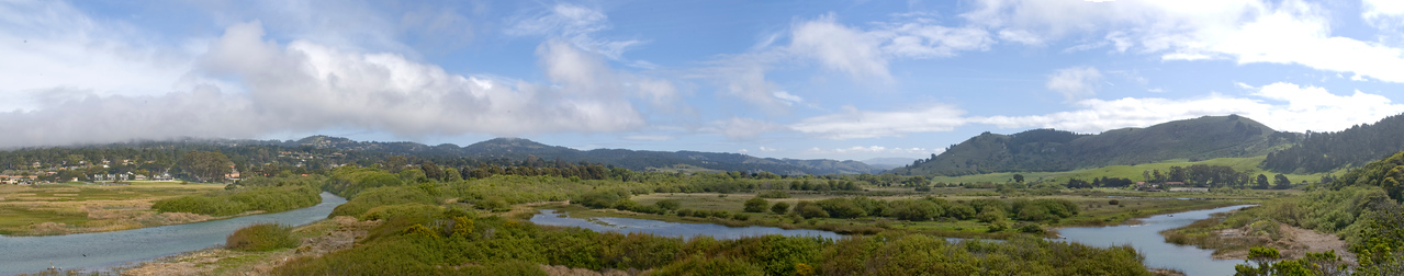 This is the mouth of the Carmel Valley.
