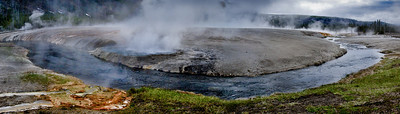 Firehole River through Black Sand Basin, Yellowstone National Park
