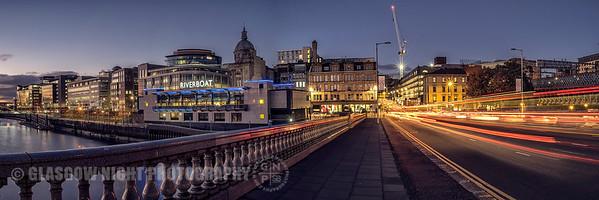 Rush hour on the King George V Bridge