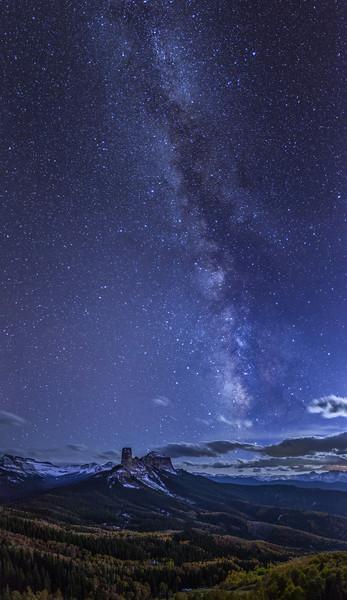 Courthouse Mountain Milky Way