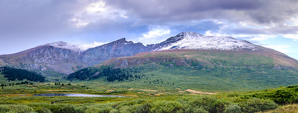 Mount Bierstadt and Sawtooth Ridge