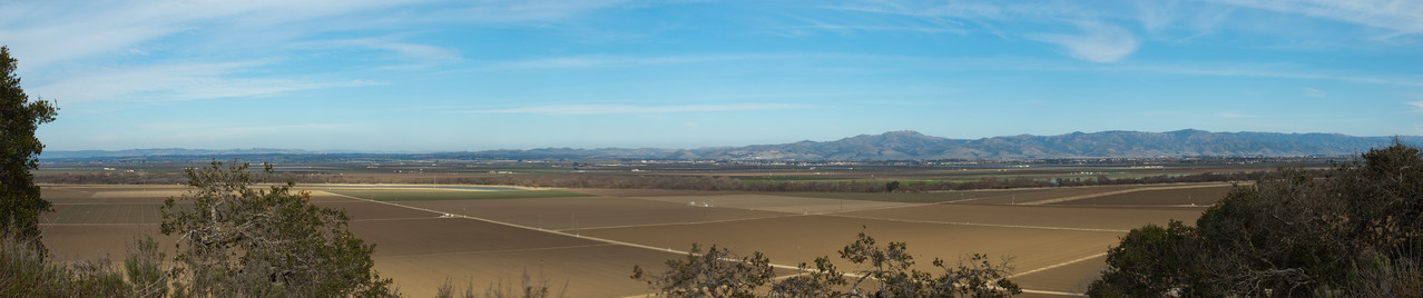 This is the Salinas Valley, before most of the crops are planted.