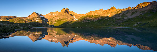 Ice Lake Sunrise Pano