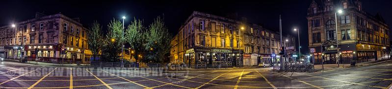 The Old Toll Bar at Paisley Road Toll