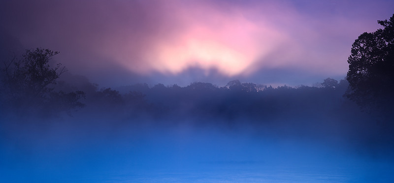 Shenandoah River - Luray, VA<br /> - Singh-Ray LB Color Combo