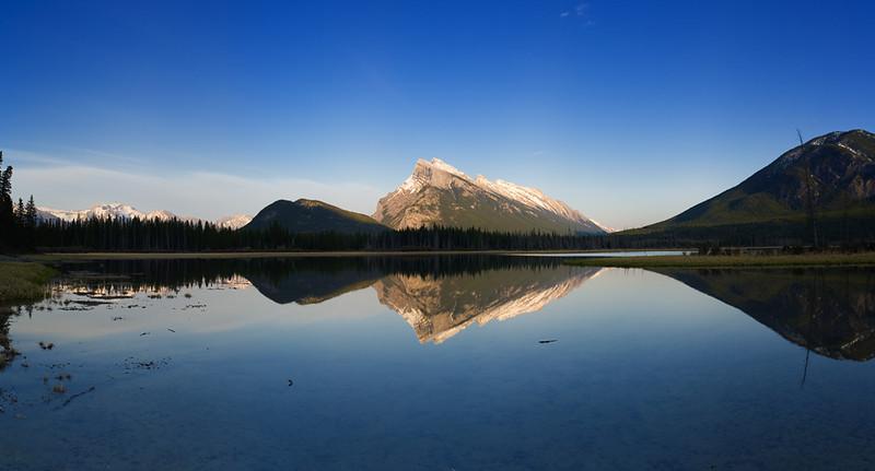 Vermillion Lake #1 Pre Sunset - Banff WHS