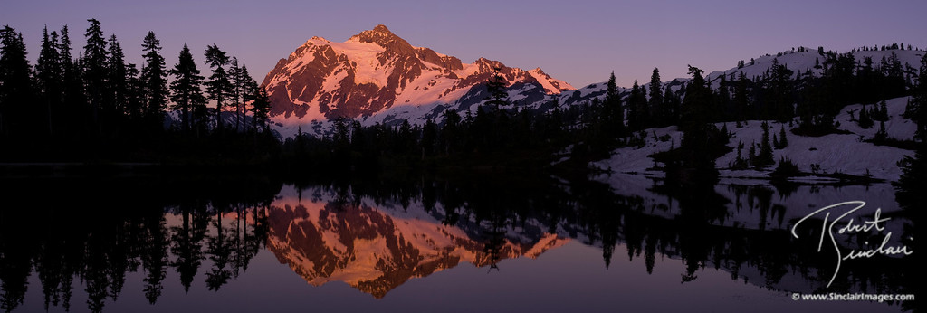 Mt. Shuksan Sunset