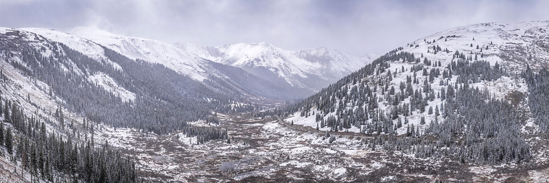 Independence Pass Pano, Colorado