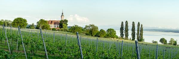 Zisterzienser Priorat Kloster, Birnau - panorama print 13973x4590 pix