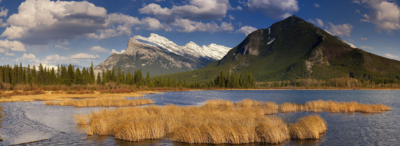 "Vermillion Lake #3 - ""Golden Hour"" - Banff NP<br /> - Lee 2 Stop Soft GND"