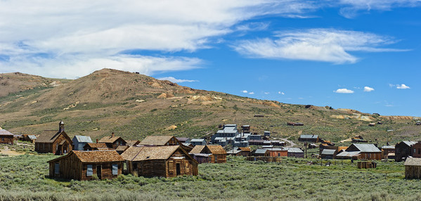 Bodie Ghost Town Looking South - California