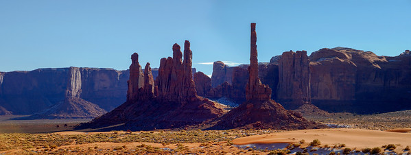 Totem Pole - Monument Valley - Arizona