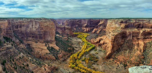 Autumn in Canyon de Chelly - Arizona