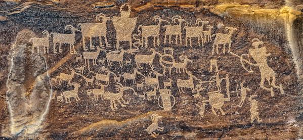 Nine Mile Canyon Petroglyph - Utah