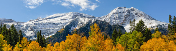 Autumn view from the Alpine Loop - Wasatch Mountains - Utah