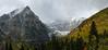 Storm on Mount Timpanogos - Wasatch Mountains - Utah
