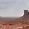 Cloudy Canyonland panorama