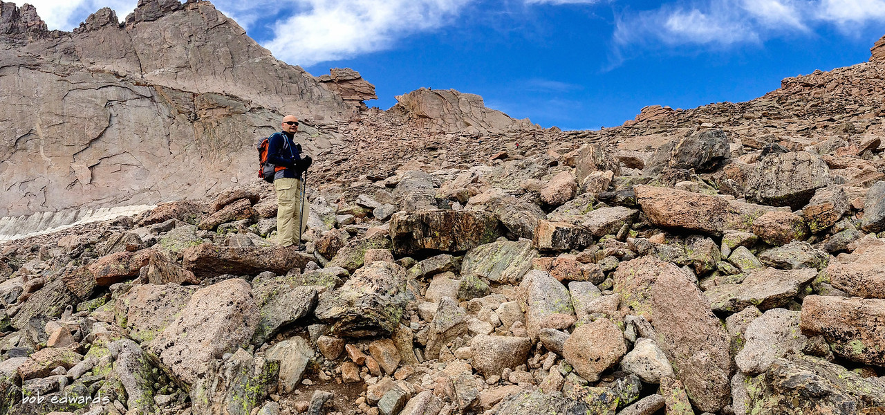 Trail to The Keyhole on Long's Peak