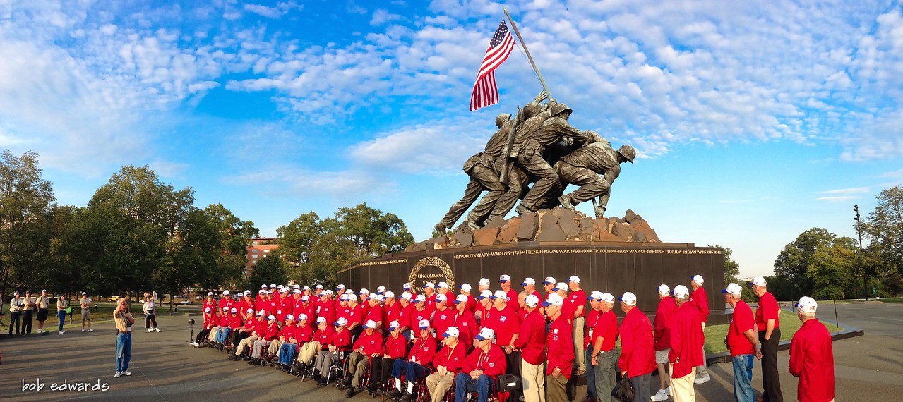 Honor Flight - Iwo Jima