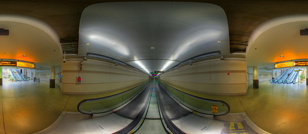 Hi Quality panoramas of Port Columbus International Airport (CMH) - Underground Walkway. Interactive QuickTime VR tours of these images can be found at:  http://www.columbusvirtualtour.com. (© James D. DeCamp | http://www.JamesDeCamp.com | 614-367-6366)