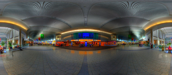 Hi Quality panoramas of Port Columbus International Airport (CMH) - Big Board in HDR Interactive QuickTime VR tours of these images can be found at:  http://www.columbusvirtualtour.com. (© James D. DeCamp | http://www.JamesDeCamp.com | 614-367-6366)