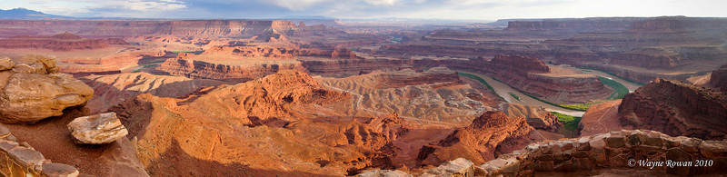 Shafer Canyon from Dead Horse Point