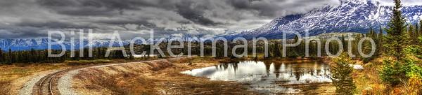 White Pass Summit, AK Panorama