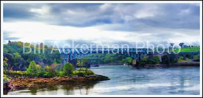 Bridge Under Gray Skies