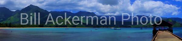 Hanelei Bay Panorama