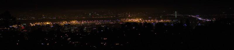 Bay Bridge and Oakland Docks
