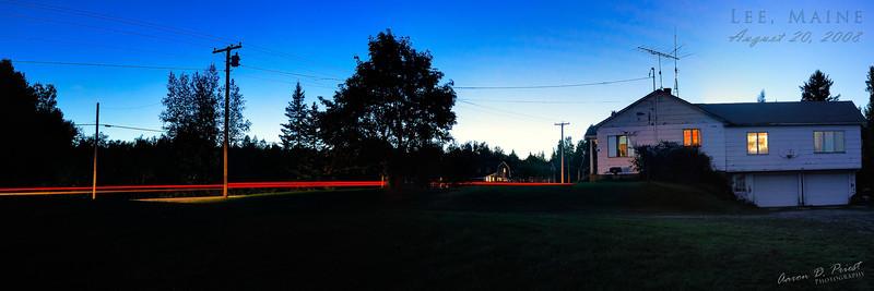Tail Lights, Lee, Maine