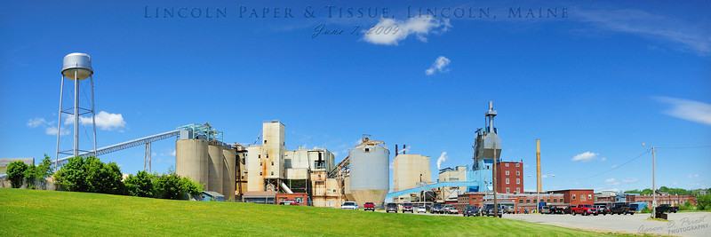 Lincoln Paper & Tissue, Lincoln, Maine