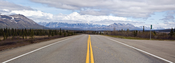The Parks road from Anchorage to Denali to Fairbanks.