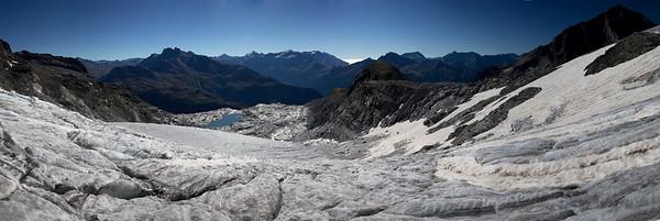 Sur le glacier de l'Arpont (Maurienne/Vanoise))
