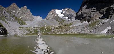 Lac des Vaches et Grande Casse (Vanoise)
